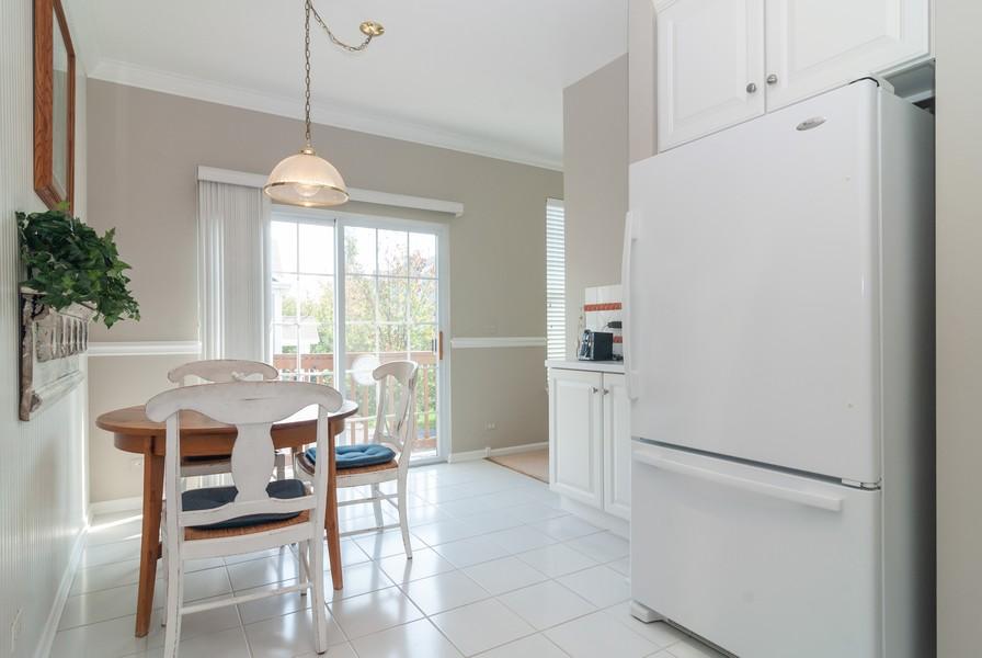 Real Estate Photography - 608 Declaration Ln, Aurora, IL, 60502 - Kitchen / Breakfast Room