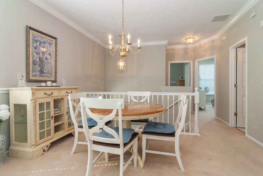 Real Estate Photography - 608 Declaration Ln, Aurora, IL, 60502 - Dining Room