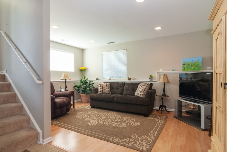 Real Estate Photography - 608 Declaration Ln, Aurora, IL, 60502 - Family Room