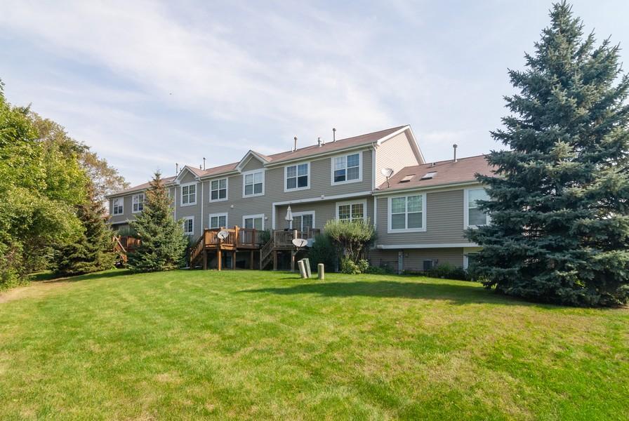 Real Estate Photography - 608 Declaration Ln, Aurora, IL, 60502 - Rear View
