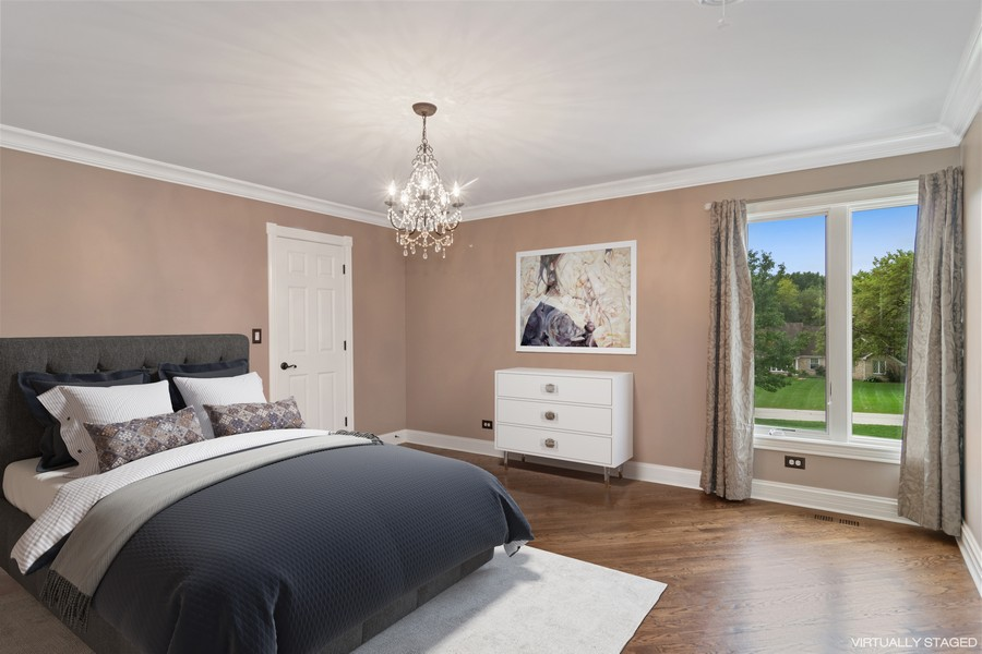 Real Estate Photography - 29W554 Sunset Ridge Dr, Bartlett, IL, 60103 - Guest Bedroom