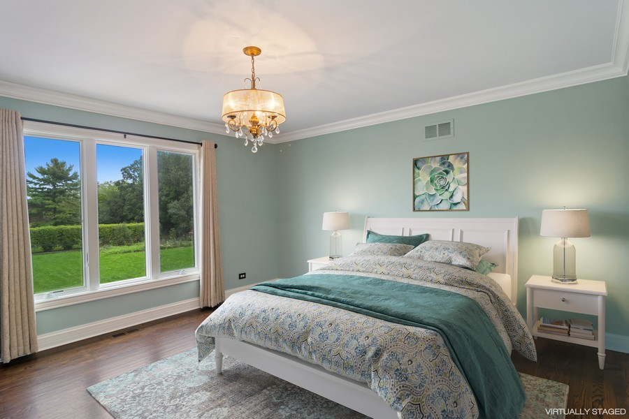 Real Estate Photography - 29W554 Sunset Ridge Dr, Bartlett, IL, 60103 - Bedroom