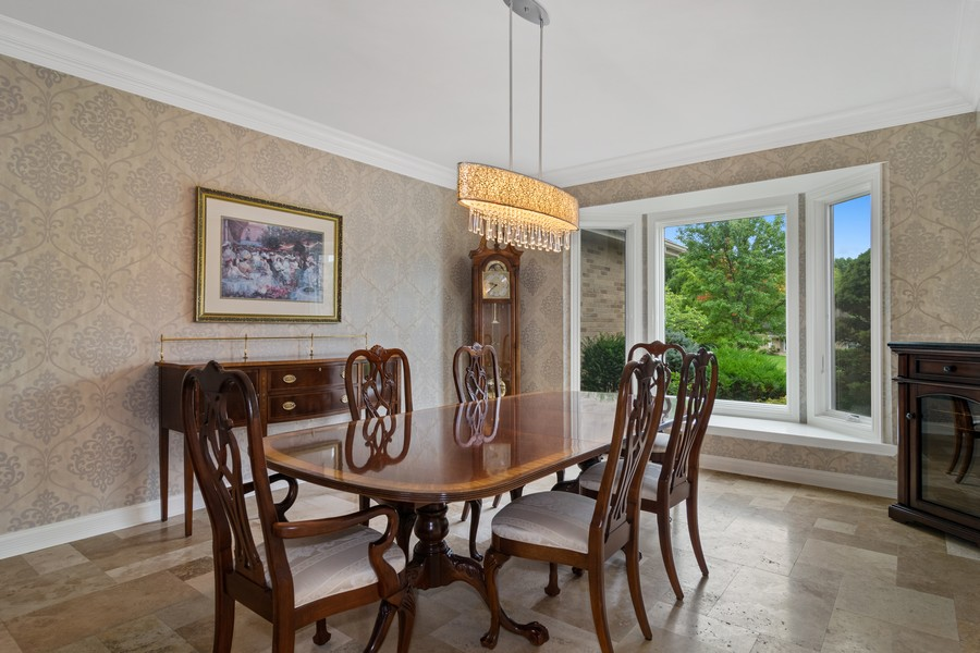 Real Estate Photography - 29W554 Sunset Ridge Dr, Bartlett, IL, 60103 - Dining Room