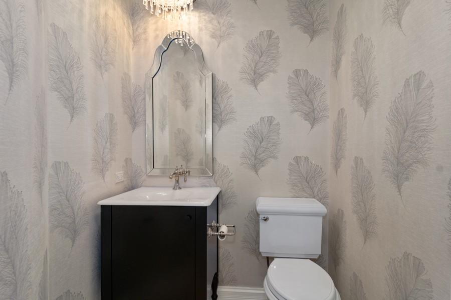 Real Estate Photography - 29W554 Sunset Ridge Dr, Bartlett, IL, 60103 - Half Bath