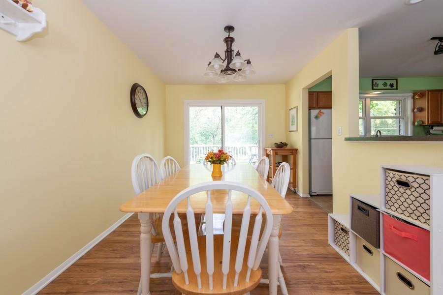 Real Estate Photography - 2406 Rose Tree Ln, Lindenhurst, IL, 60046 - Dining Area