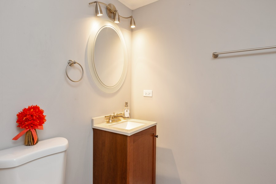 Real Estate Photography - 4919 S Lotus Avenue, Chicago, IL, 60804 - Half Bath