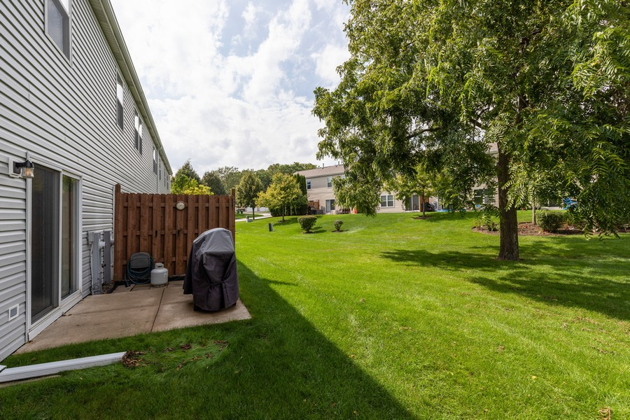 Real Estate Photography - 709 Baxter Ct, Lake Villa, IL, 60046 - Back Yard