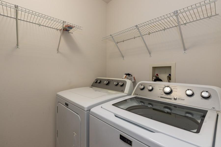 Real Estate Photography - 709 Baxter Ct, Lake Villa, IL, 60046 - Laundry Room