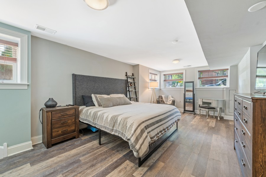 Real Estate Photography - 2144 West Giddings St, 1, Chicago, IL, 60625 - Master Bedroom