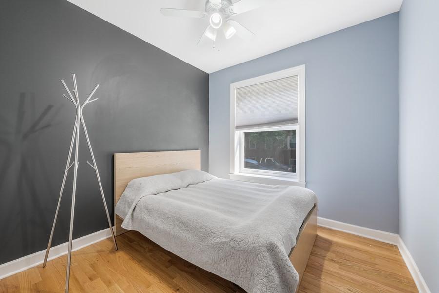 Real Estate Photography - 2144 West Giddings St, 1, Chicago, IL, 60625 - 2nd Bedroom