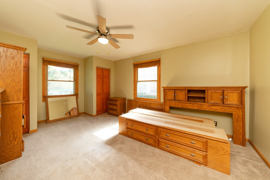 Real Estate Photography - 917 East Lake St, Aurora, IL, 60506 - Bedroom