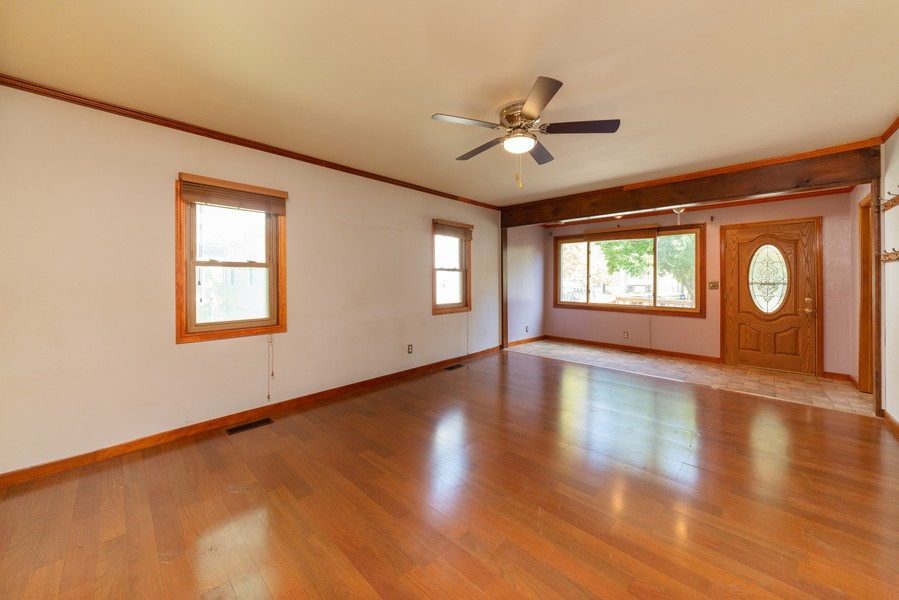 Real Estate Photography - 917 East Lake St, Aurora, IL, 60506 - Living Room / Dining Room