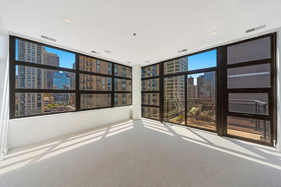 Real Estate Photography - 101 W Superior St, Unit 1204, Chicago, IL, 60611 - Master Bedroom