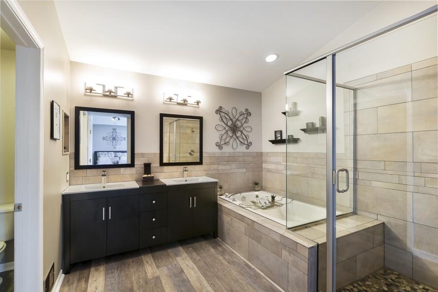 Real Estate Photography - 1775 Nashville Ln, Crystal Lake, IL, 60014 - Master Bathroom