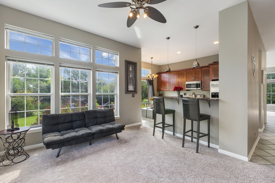 Real Estate Photography - 1775 Nashville Ln, Crystal Lake, IL, 60014 - Family Room
