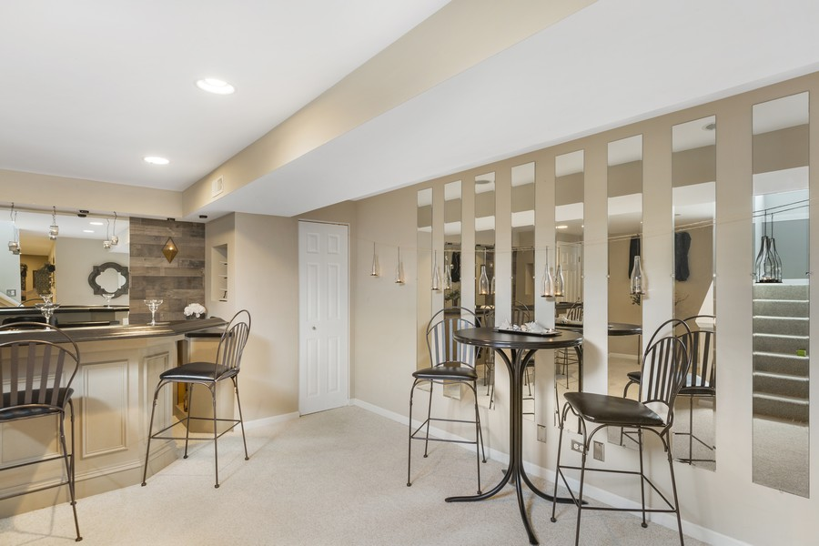 Real Estate Photography - 1775 Nashville Ln, Crystal Lake, IL, 60014 - Bar