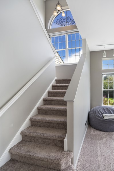 Real Estate Photography - 1775 Nashville Ln, Crystal Lake, IL, 60014 - Staircase
