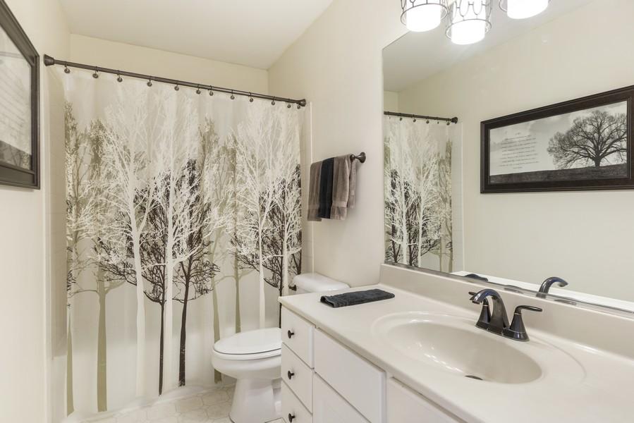 Real Estate Photography - 1775 Nashville Ln, Crystal Lake, IL, 60014 - 2nd Bathroom
