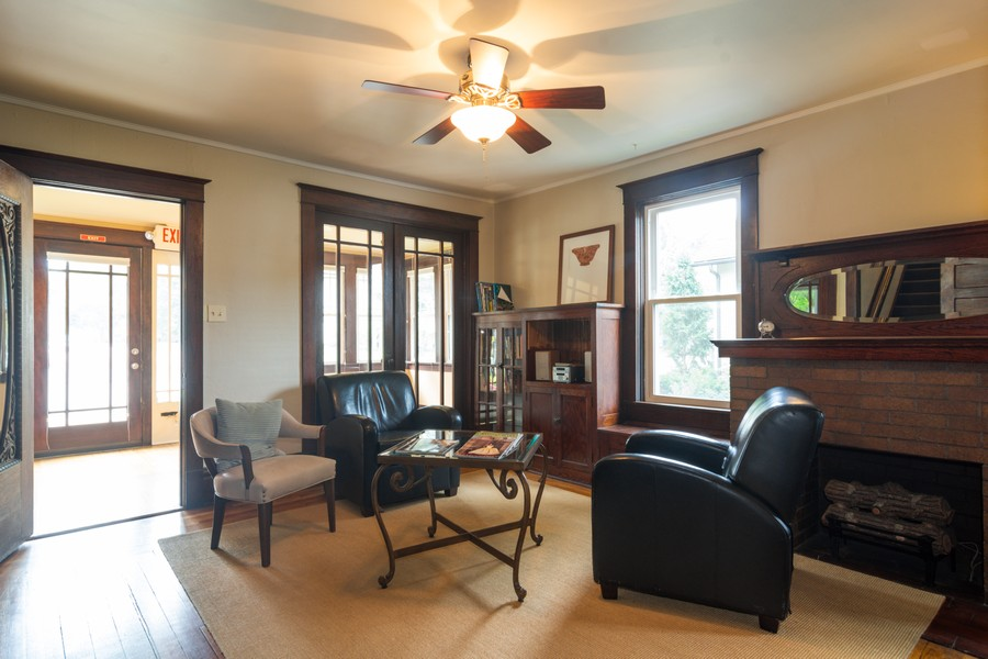 Real Estate Photography - 308 West Main St, Barrington, IL, 60010 - Living Room