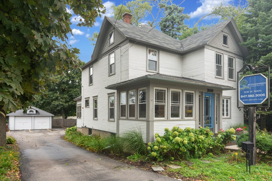 Real Estate Photography - 308 West Main St, Barrington, IL, 60010 - Front View