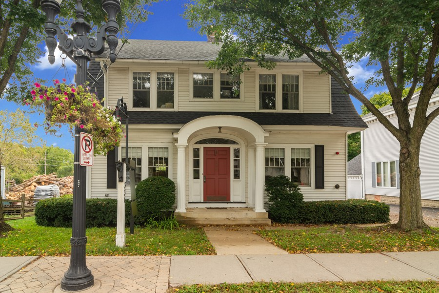 Real Estate Photography - 334 West Main St, Barrington, IL, 60010 - Front View