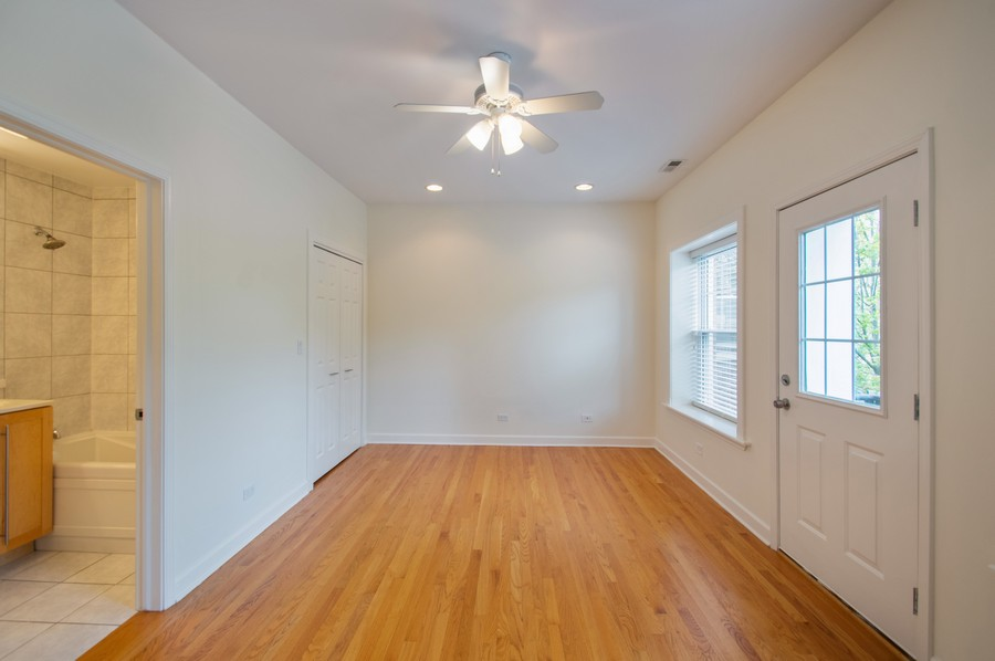 Real Estate Photography - 845 West Lawrence Ave, 2W, Chicago, IL, 60640 - Master Bedroom