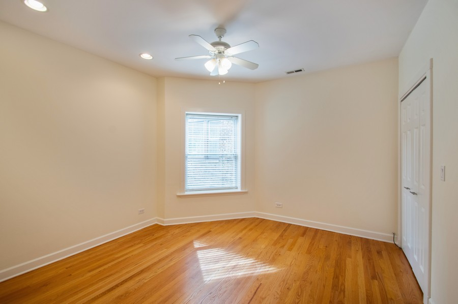 Real Estate Photography - 845 West Lawrence Ave, 2W, Chicago, IL, 60640 - 2nd Bedroom
