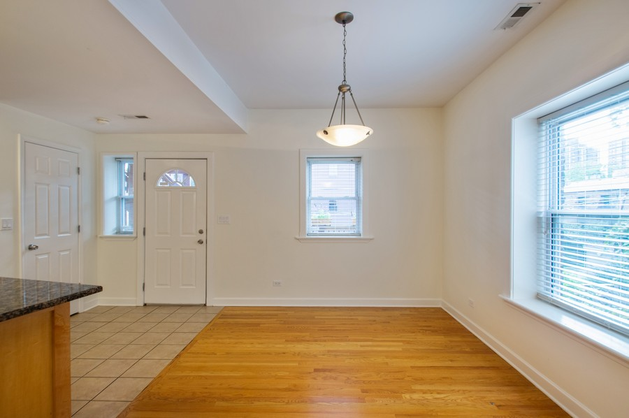 Real Estate Photography - 845 West Lawrence Ave, 2W, Chicago, IL, 60640 - Dining Area