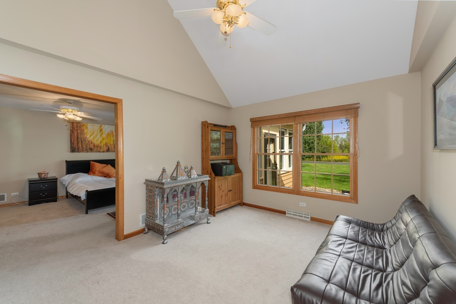 Real Estate Photography - 9S215 Chandelle Dr, Naperville, IL, 60564 - Sitting Room