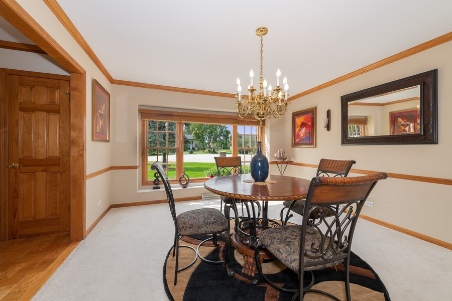 Real Estate Photography - 9S215 Chandelle Dr, Naperville, IL, 60564 - Dining Room