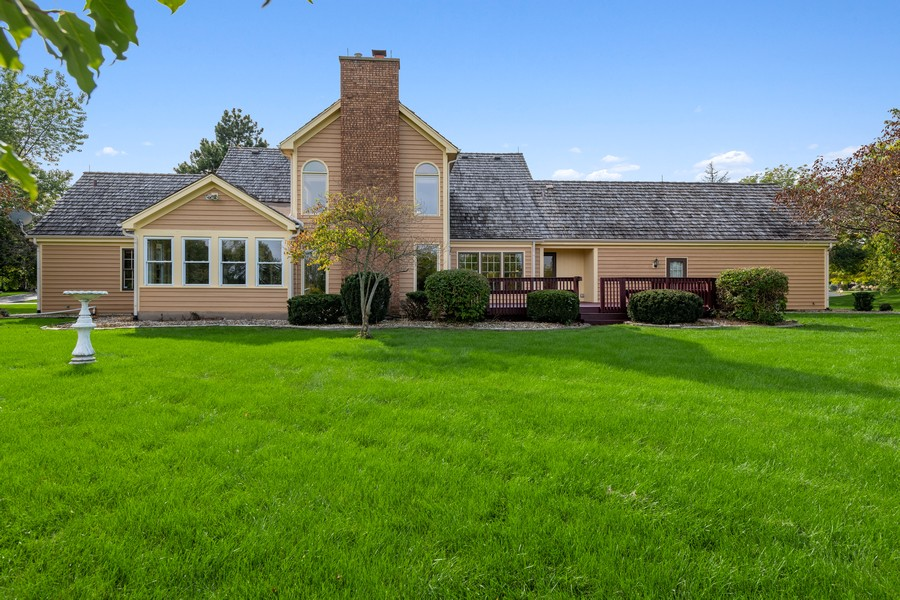Real Estate Photography - 9S215 Chandelle Dr, Naperville, IL, 60564 - Rear View