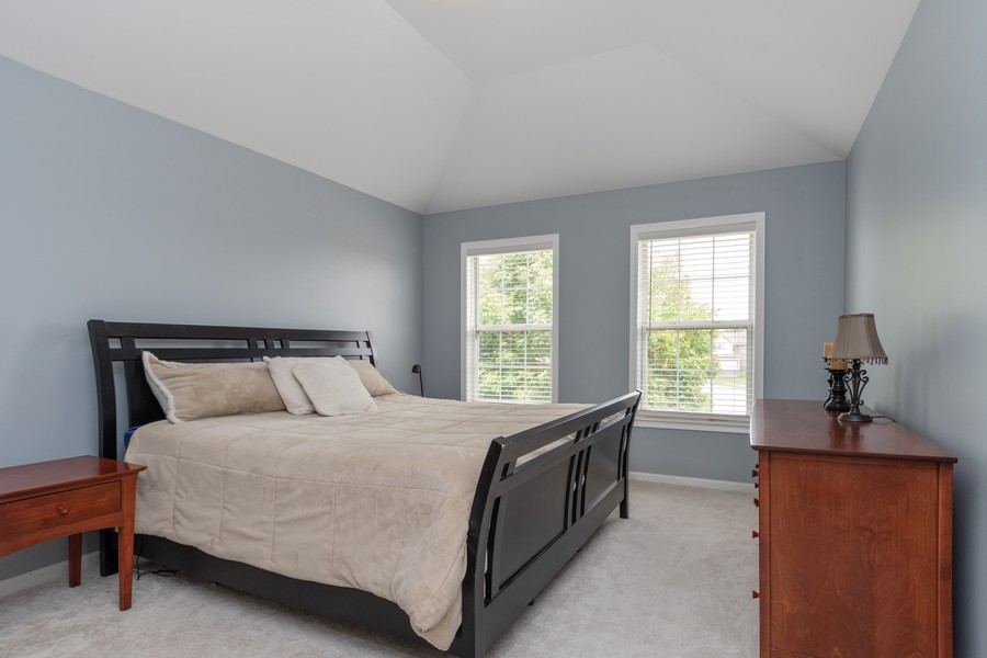 Real Estate Photography - 924 Asbury Dr, Aurora, IL, 60502 - Master Bedroom