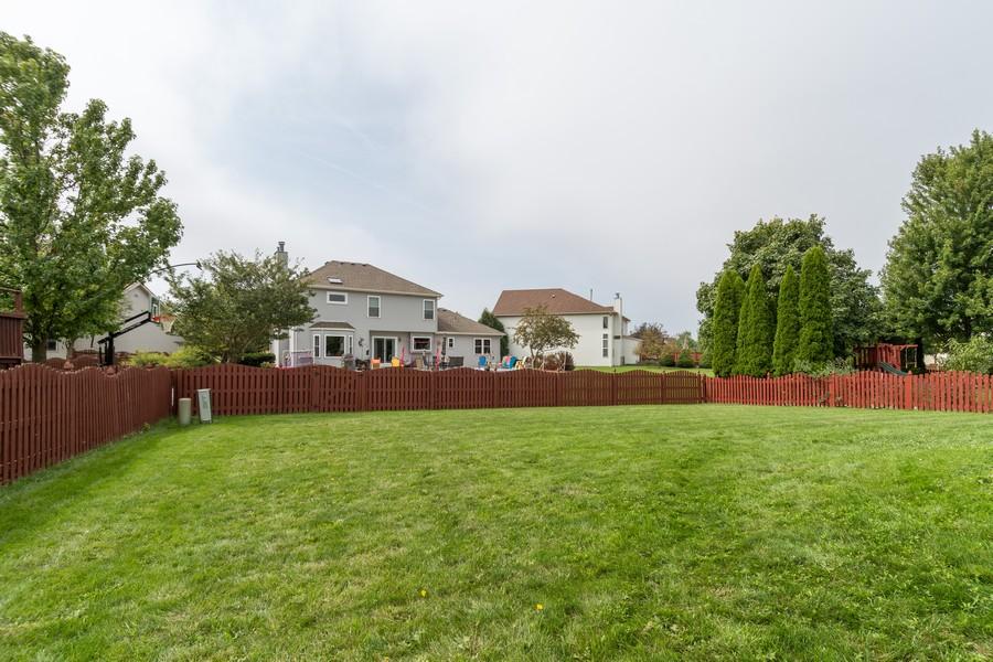 Real Estate Photography - 924 Asbury Dr, Aurora, IL, 60502 - Back Yard