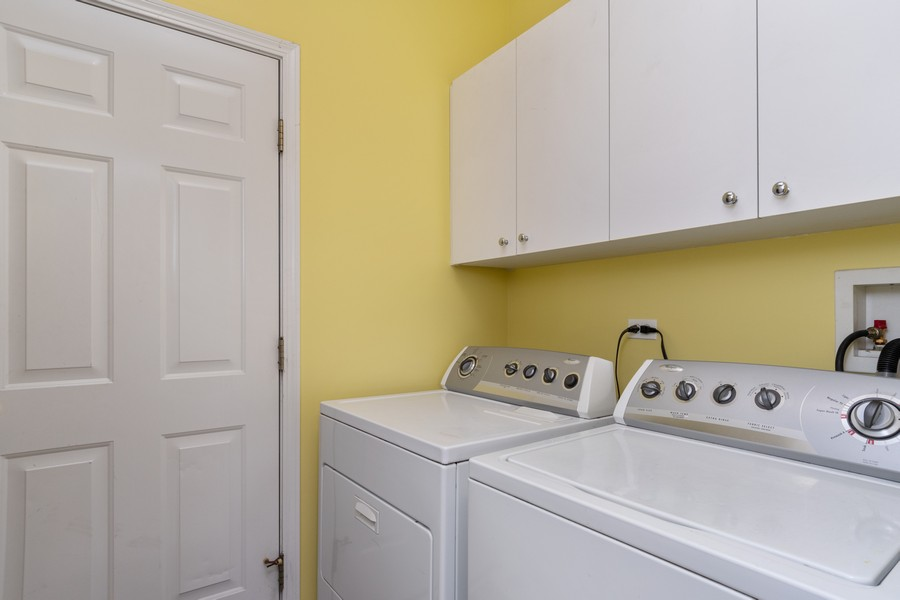 Real Estate Photography - 924 Asbury Dr, Aurora, IL, 60502 - Laundry Room
