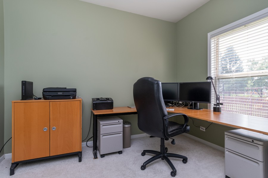 Real Estate Photography - 924 Asbury Dr, Aurora, IL, 60502 - Office