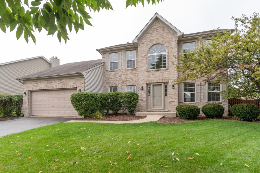 Real Estate Photography - 924 Asbury Dr, Aurora, IL, 60502 - Front View