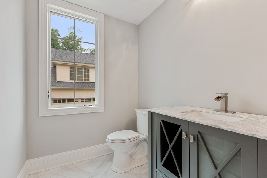 Real Estate Photography - 520 West 39Th St, Downers Grove, IL, 60515 - First Floor Bathroom
