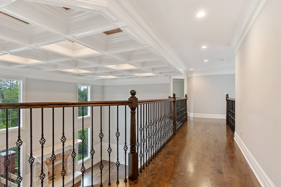 Real Estate Photography - 520 West 39Th St, Downers Grove, IL, 60515 - Second Floor Hallway