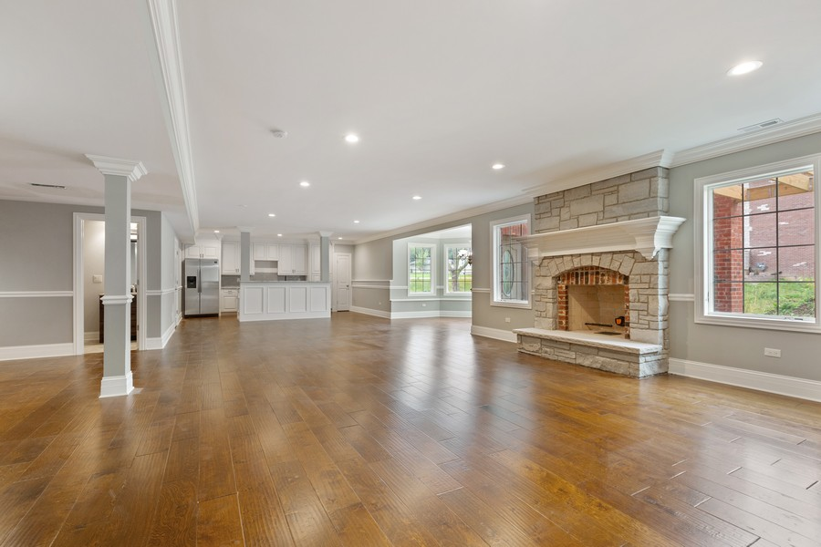 Real Estate Photography - 520 West 39Th St, Downers Grove, IL, 60515 - Walkout Basement