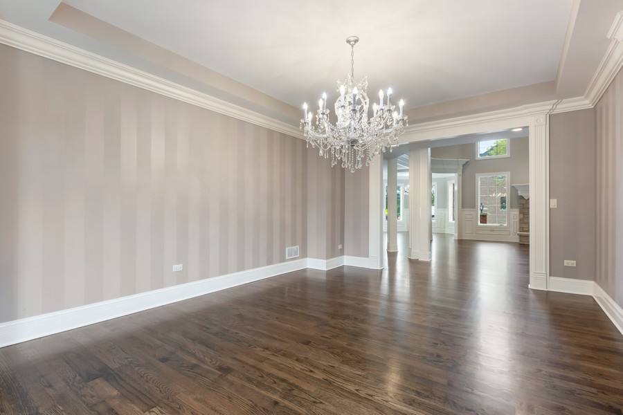 Real Estate Photography - 520 West 39Th St, Downers Grove, IL, 60515 - Dining Room