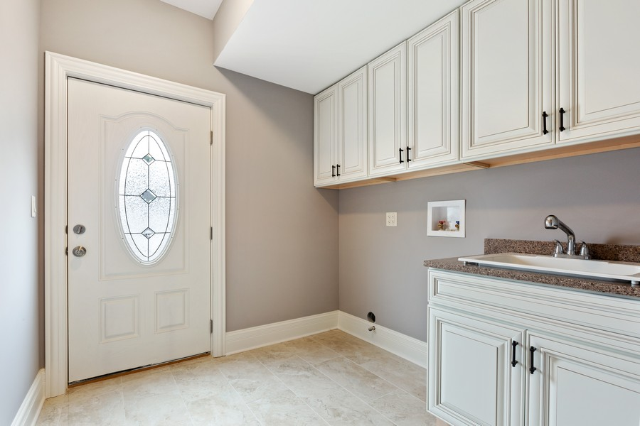 Real Estate Photography - 520 West 39Th St, Downers Grove, IL, 60515 - Laundry Room