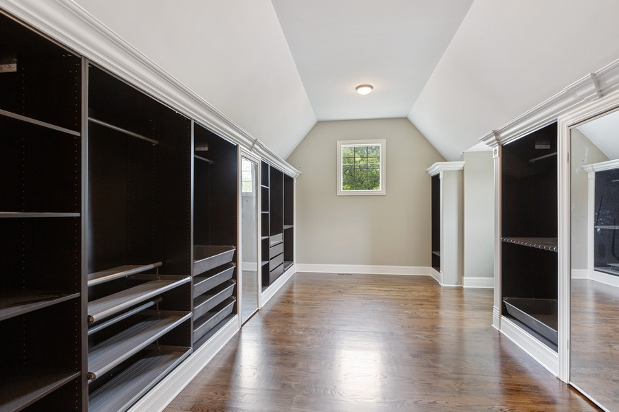 Real Estate Photography - 520 West 39Th St, Downers Grove, IL, 60515 - Master Bedroom Closet