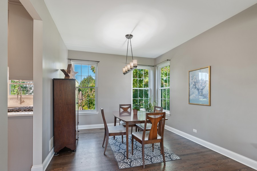 Real Estate Photography - 18601 West Meander Dr, Grayslake, IL, 60030 - Dining Room