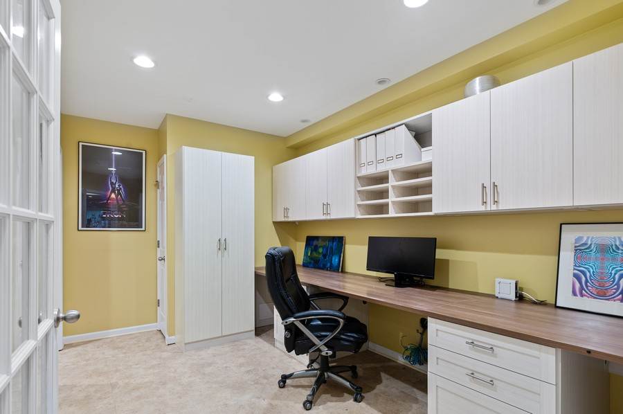 Real Estate Photography - 18601 West Meander Dr, Grayslake, IL, 60030 - Office