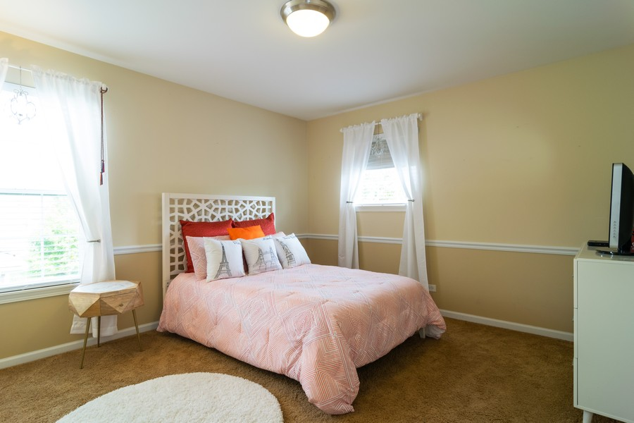 Real Estate Photography - 1394 Essex Dr, Hoffman Estates, IL, 60192 - Bedroom