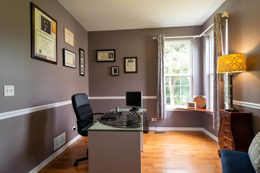 Real Estate Photography - 1394 Essex Dr, Hoffman Estates, IL, 60192 - Office