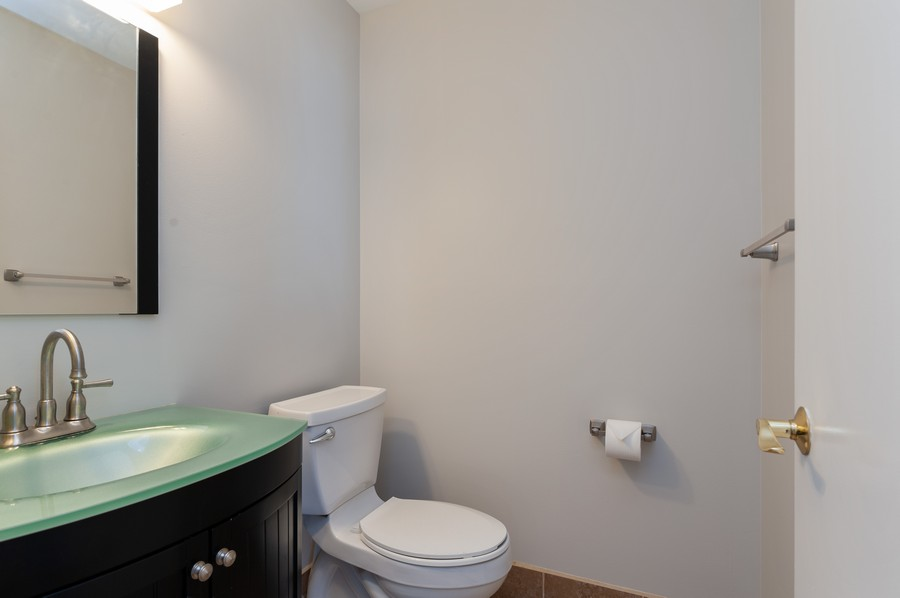 Real Estate Photography - 772 Highview Ct, Antioch, IL, 60002 - Powder Room