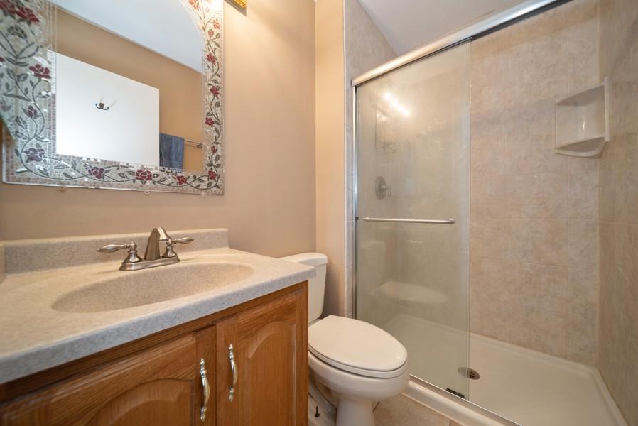 Real Estate Photography - 1399 Loch Lomond Dr, Crystal Lake, IL, 60014 - Master Bathroom