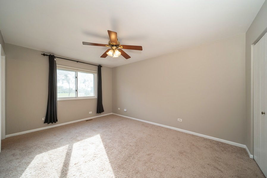 Real Estate Photography - 1399 Loch Lomond Dr, Crystal Lake, IL, 60014 - Master Bedroom