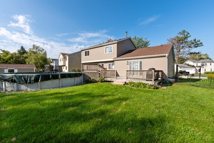 Real Estate Photography - 1399 Loch Lomond Dr, Crystal Lake, IL, 60014 - Rear View